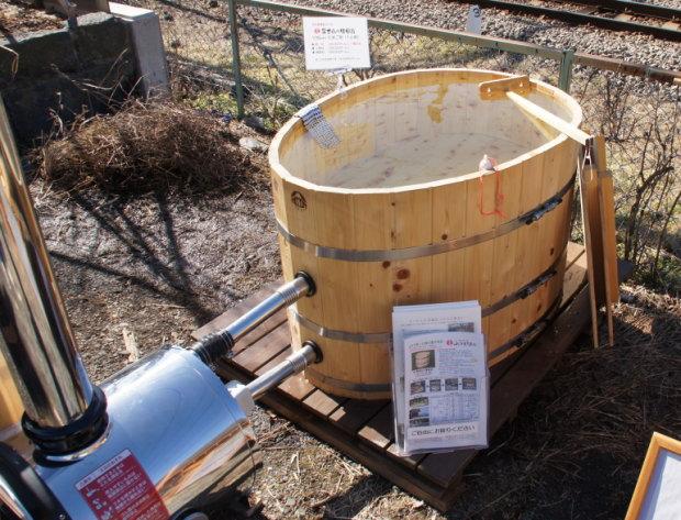 2012年 都留市エコハウス 薪づくりイベント