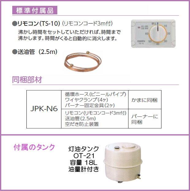 JPK-N6 付属品