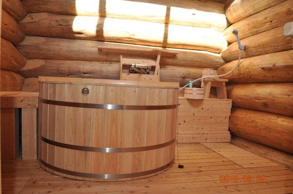 ヒノキ風呂 お客様の設置例